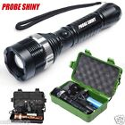 Super Bright 6000Lm CREE XM-L T6 LED Adjustable Focus Flashlight Torch Zoomable