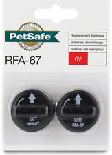 PetSafe Rfa-67D-11 Replacement 6-Volt Battery 2pk