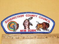 VINTAGE BSA BOY SCOUTS OF AMERICA PATCH  SCHENECTADY COUNTY COUNCIL NEW YORK
