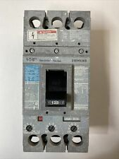 Siemens I-T-E 3 Pole 125 Amp Breaker Type Fxd6 Cat No Fxd63B125