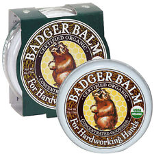 Badger Balm - Concentrated Skin Moisturiser for Hardworking Hands Tin 21g