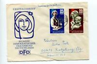 6769) DDR 1967 Cover Leipzig Spring Fair 2v