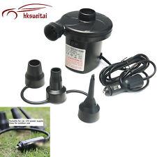 Cigarette Lighter Electric Air Pump Inflator Inflatable Mattresses Hovercraft