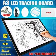 A3 LED Light Box Tracing Board Art Design Stencil Drawing Pad Thin Copy Pattern