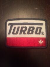 """Vtg Turbo Oil Field Service 3"""" Patch Sew On Gas Canada"""