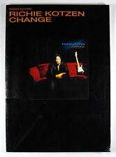 "RICHIE KOTZEN ""CHANGE"" BAND SCORE JAPAN GUITAR TAB"