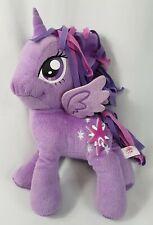 "My Little Pony PURPLE TWILIGHT SPARKLE UNICORN 14"" Plush STUFFED ANIMAL Toy"