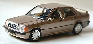 Mercedes Benz 190 E 2,3-16 W 201 1982-87 champagner metallic 1:43 Norev 430201