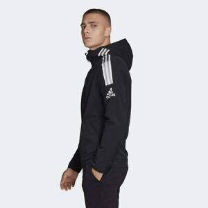 BNWT adidas ZNE Woven Hoodie Full Zip Jacket Men's Medium XS