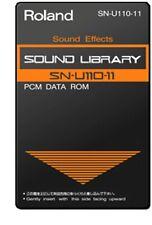 Roland SN-U110-11 PCM Data ROM Sound Library Card U-110 U-20 - Sound Effects