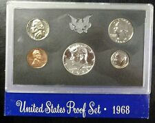 1968-S Proof Set United States US Mint Original Government Packaging Box