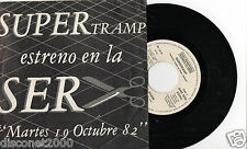 "SUPERTRAMP - It's Raining Again, SG 7"" RARE SPAIN 1982 ULTRARARE PROMO"
