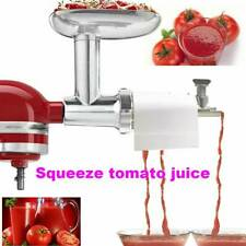For Kitchenaid Mixer Tomato Juicer Attachment Meat Grinder Mincer Attachments