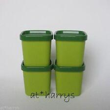 Tupperware MicroGourmet Förmchen (4) Dampfwunder Grün