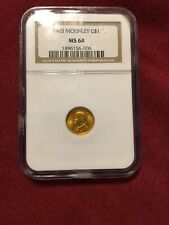 1903 McKinley $1 Gold Louisiana Purchase NGC MS64