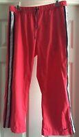 Nike Women's Workout Athletic Activewear Exercise Capri Pants Red Size Medium