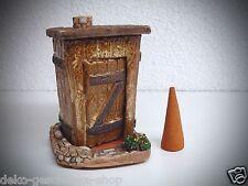 cerámica casa ahumeante Figura Fumador Stilles aldea Lavabo handarbeit40449
