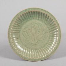 Chinese Antique Yaozhou Ware Shipwreck Porcelain Dish