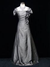 Cherlone Plus Size Grey Ballgown Wedding Evening Bridesmaid Formal Dress 20