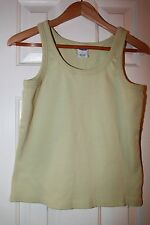 Old Navy Green Tank Top Ladies Large L - Excellent
