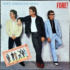 33t Huey Lewis and The News - Fore ! + Place Concert (LP)