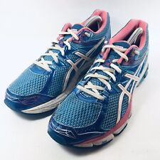 Asics GT-1000 Duomax Womens Blue Running Training Shoes Sneakers T4K8N US 9.5