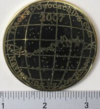 2007 ZODIAC NAVIGATING BY THE STARS UNACTIVATED & TRACKABLE GEOCOIN