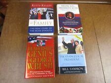 Lot of 4 books hardback George W. Bush Ex Cond