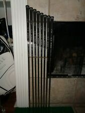 Callaway Uniflex Constant Weight Steel Shafts and Grips 4-10 & PW PULLED NEW!!!!