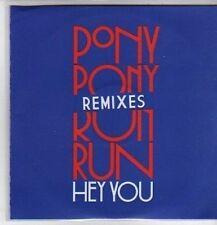 (CO453) Pony Pony Run Run, Hey you Remixes - 2011 DJ CD