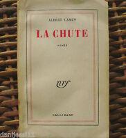 Albert Camus/ La Chute/ 1958/ Gallimard/ En Francés
