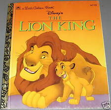 DISNEY'S THE LION KING by JUSTINE KORMAN 1994 LGB