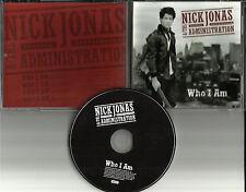 Jonas Brothers NICK JONAS Who I am 4 TRX w/ 3 EDITS PROMO DJ CD single Nicholas
