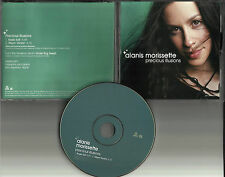 ALANIS MORISSETTE Precious Illusions w/ RARE EDIT PROMO DJ CD Single 2002 USA
