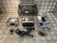 2013 FIAT DOBLO CARGO 1.3 M JET DIESEL ECU SET KIT 5 SPEED 55246588 50520764