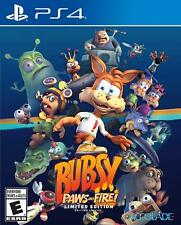 PS4 Bubsy: Paws on Fire! Limited Edition *US version *US seller