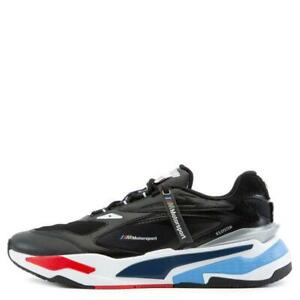 Puma Men's BMW MMS RS-Fast Shoes NEW AUTHENTIC Black/Marina/Red 30677001