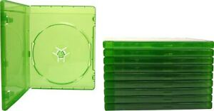 10 Translucent Green 12MM Replacement Game Cases For Xbox One Xbox One