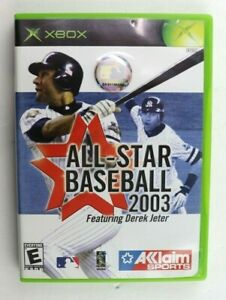 All-Star Baseball 2003 (Microsoft Original Xbox, 2002) No Manual Tested