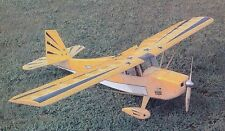 Electric  Decathlon  72 inch Wing  Scale Radio Control  AIrplane Printed Plans
