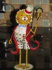 Circus Lion Rumba the Ringleader Figurine Ring Master Lori Mitchell Collectible