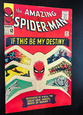 AMAZING SPIDER-MAN #31 (1965) -- 1st Appearance GWEN STACY / HARRY OSBORN -- VF-