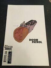 """Doom Patrol#1 Incredible Condition 9.4(2016)""""Removable Sticker Cover"""""""