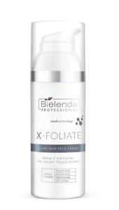 Bielenda Professional X-Foliate Clear Skin Anti Acne Face Cream with Acids 50ml