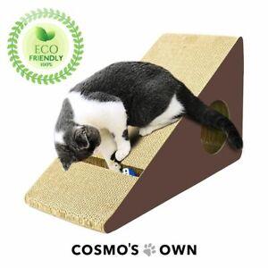 Cosmo's Own Super Triangular Triangle Cat Scratcher Activity Center Brand New