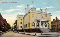 Salem Massachusetts 1912 Postcard The Custom House