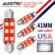 AUXITO 4X CANBUS Dome Light 578 212-2 White LED Bulb 41MM Festoon LED Blubs