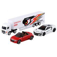TOMICA HONDA SET NSX SAFETY CAR S660 TEAM + MUGEN RACING TRANSPORTER SET TM96455