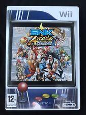 SNK Arcade Classics Volume 1 / Nintendo Wii / Avec Notices