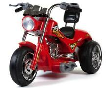 Mini Motos Red Hawk Motorcycle 12v Red Button Throttle 2 Speeds & Reverse 3-6 Yr